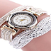 Hunputa Women Luxury Crystal {Ladies|Females|Girls} Gold Bracelet Quartz {Watch|Timepiece} Rhinestone Clock Ladies {Gown|Outfit|Costume} Gift Watches