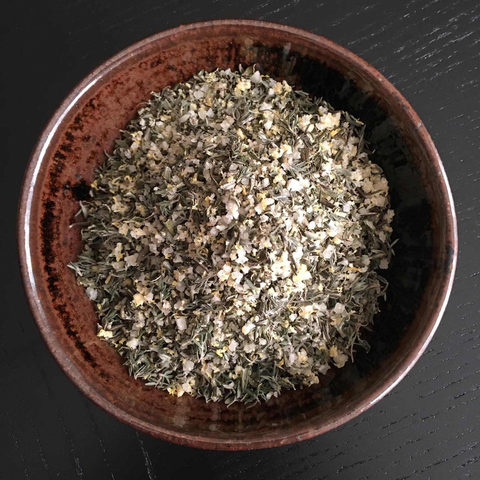 Lemon Herb Garlic Salt
