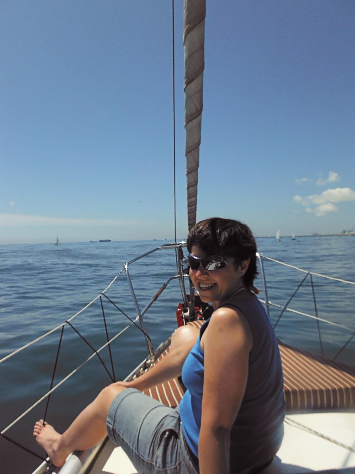 Por la costa de Barcelona