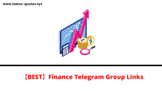 【BEST】Finance Telegram Groups & channels