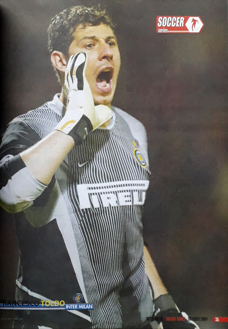 FRANCESCO TOLDO OF INTER MILAN
