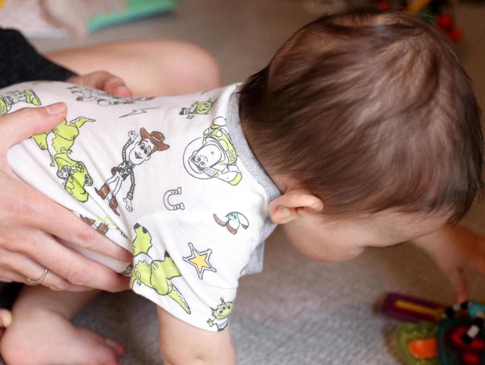 Baby Boys' Disney·Pixar 2-Piece Rompers Set Beige/Gray