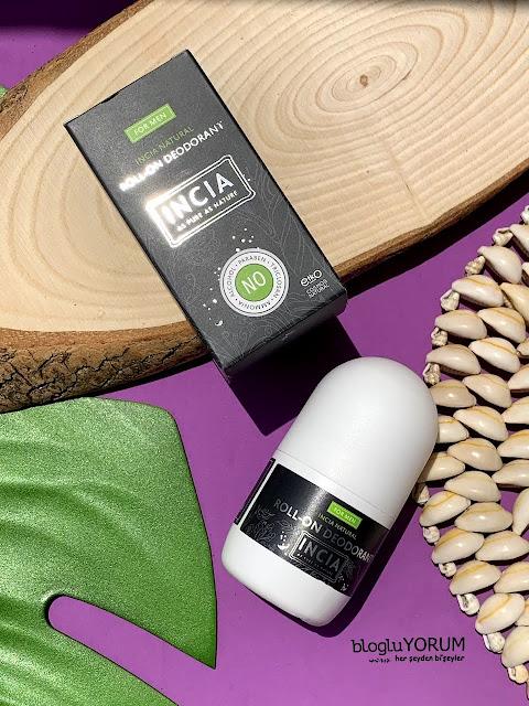 INCIA Erkekler İçin Doğal Roll-On Deodorant kullananlar