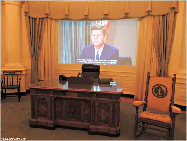 Representación de la Oficina Oval de la Casa Blanca