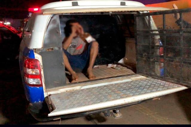 Briga durante assalto termina com criminoso e vítima baleados