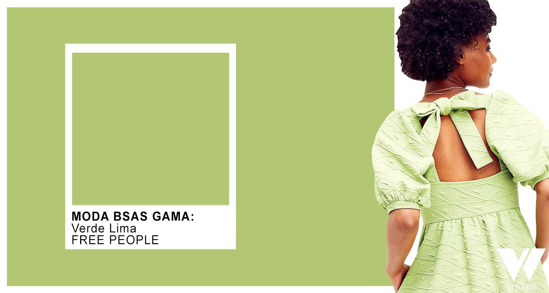 verdes colores de moda primavera verano 2022