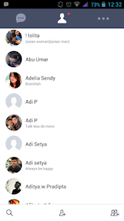 Aplikasi Line Lite