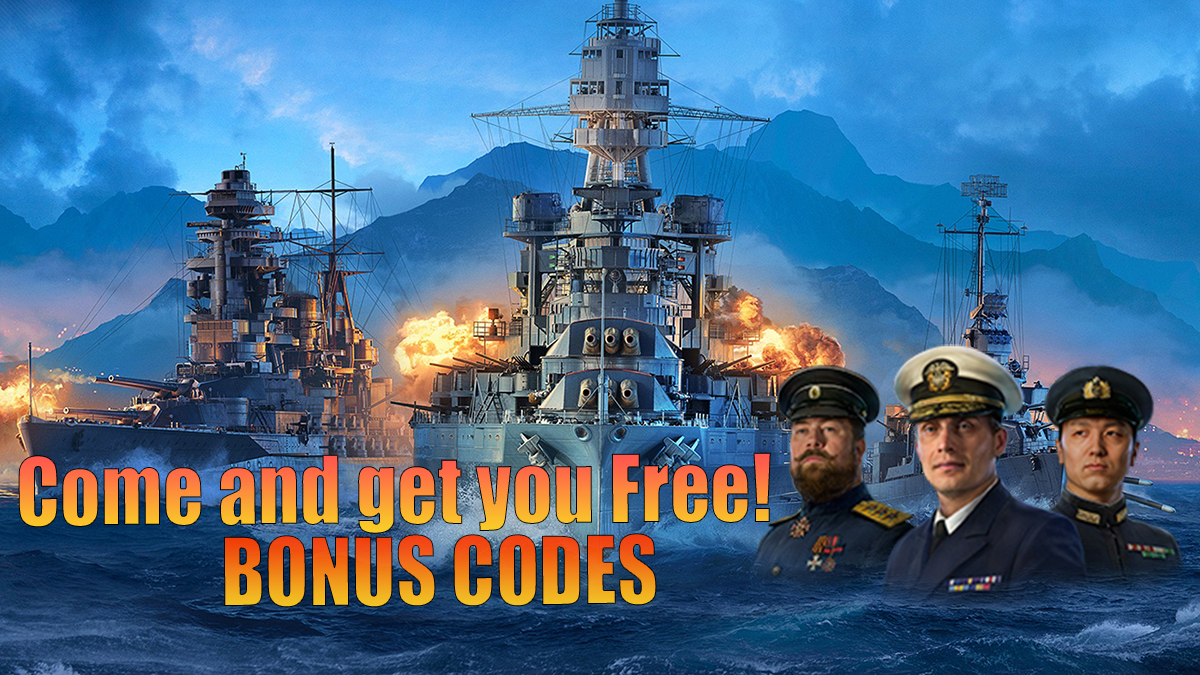 world of warships bonus codes