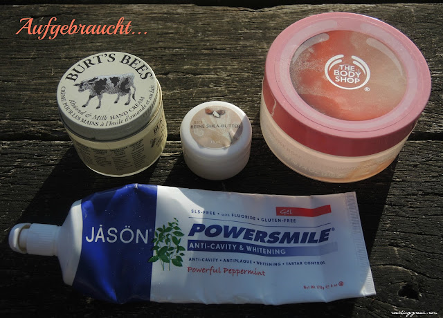 Jason, Burt's Bees, The Body Shop, Finigrana