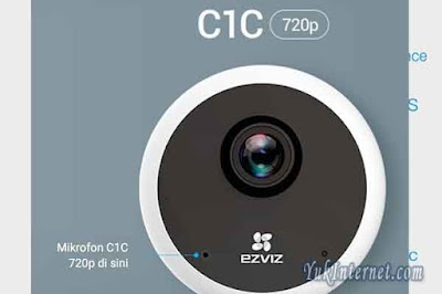 EZVIZ C1C 720P Smart Home IP Camera CCTV Night Vision