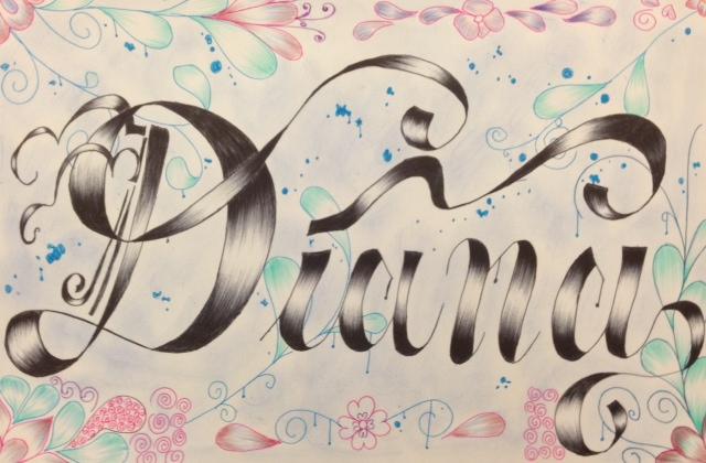 Drawing Graffiti Names Diana