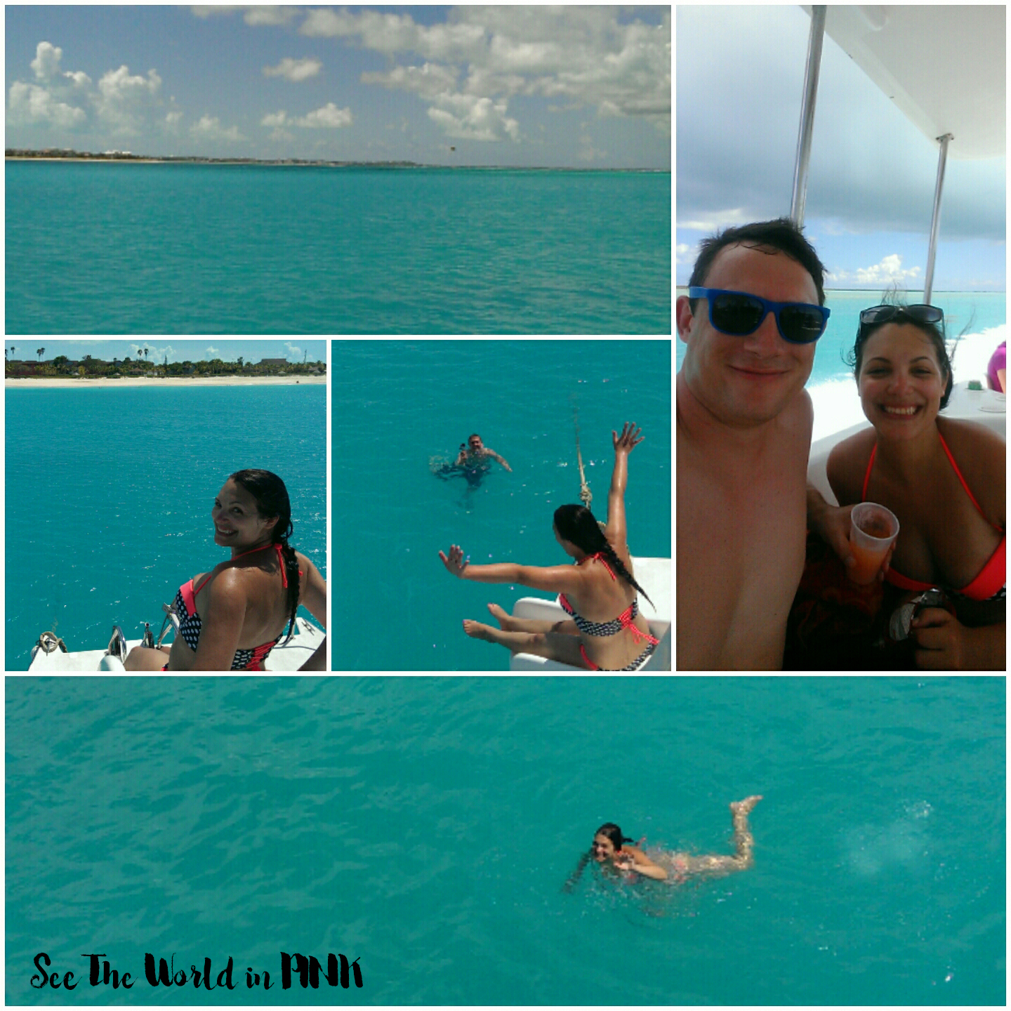 "Travel Post - My Turks and Caicos Vacation Part 4 Recap ""Providenciales, Chalk Sound and Sapodilla Bay"""