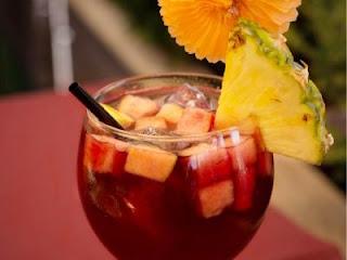 Pineapple Rosé Sangria