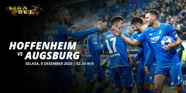 PREDIKSI PARLAY HOFFENHEIM VS AUGSBURG SELASA 8 DESEMBER 2020