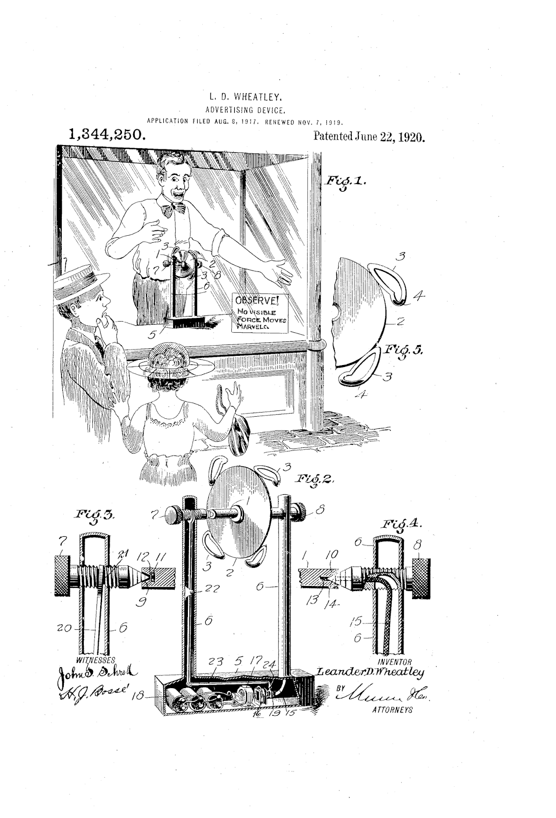 The Patent Search Blog Bizarre Advertising Patents