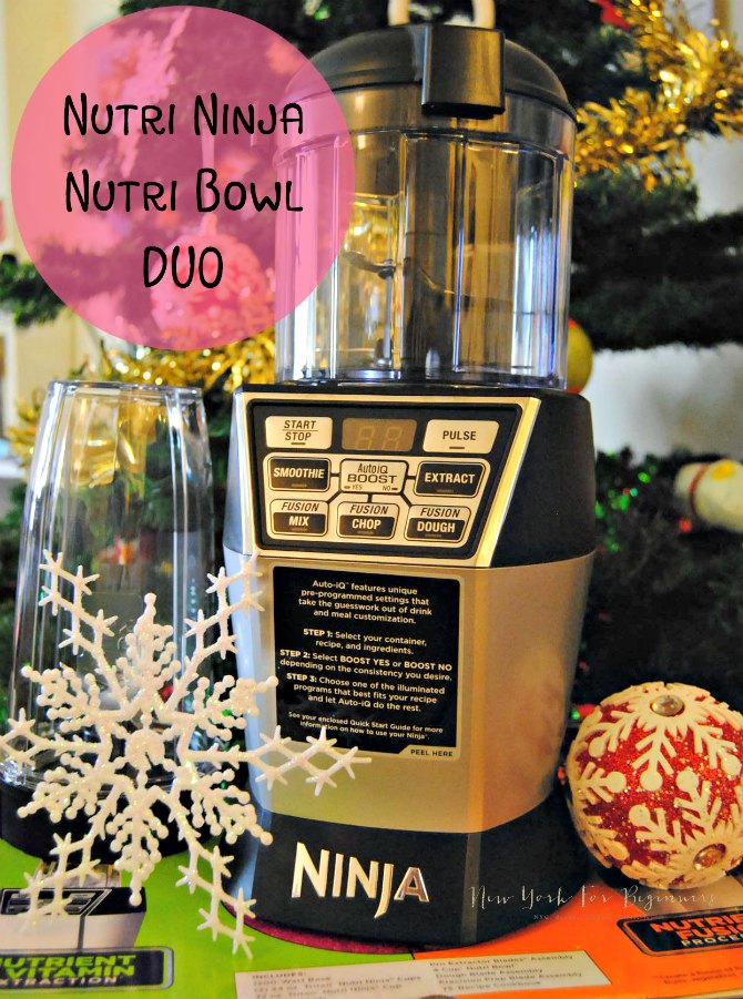 Nutri Ninja Nutri Bowl DUO Review at New York For Beginners