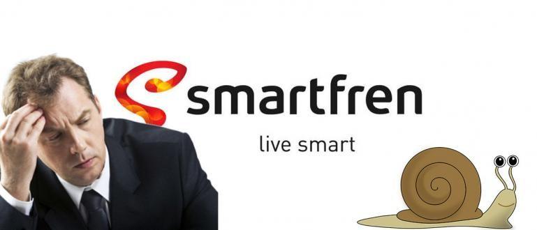Cara Mengatasi Jaringan Internet Smartfren Yang Lemot