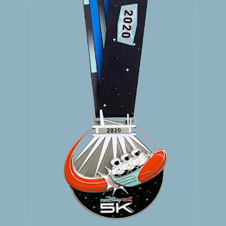 RunDisney Virtual Series 2020 - Space Mountain médaille