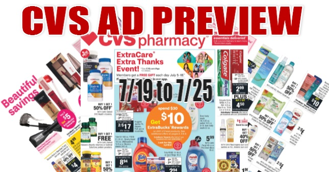 CVS Ad Scan 7-19 to 7-25
