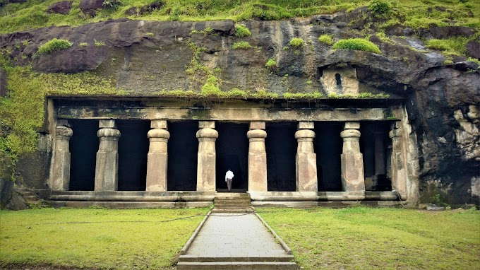 Elephanta Caves at Gharapuri