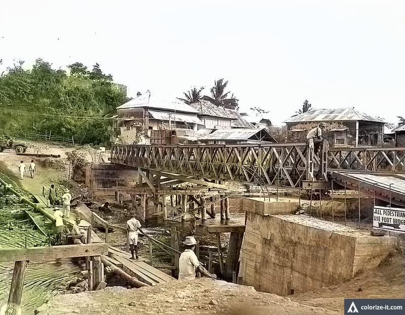 Bridge in Lemery