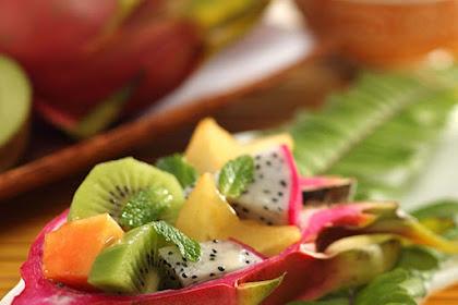 Resep Tropical Island Fruit Salad
