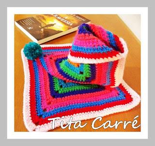 Peças em crochet e tricot para serem usadas neste Inverno