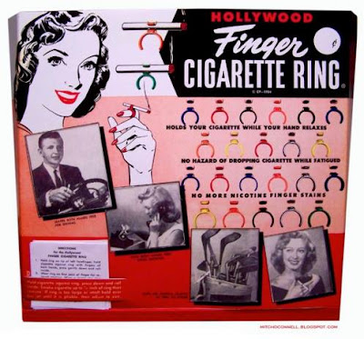 Hollywood Finger Cigarette Ring