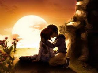 Ảnh hôn nhau đẹp, anh yeu em