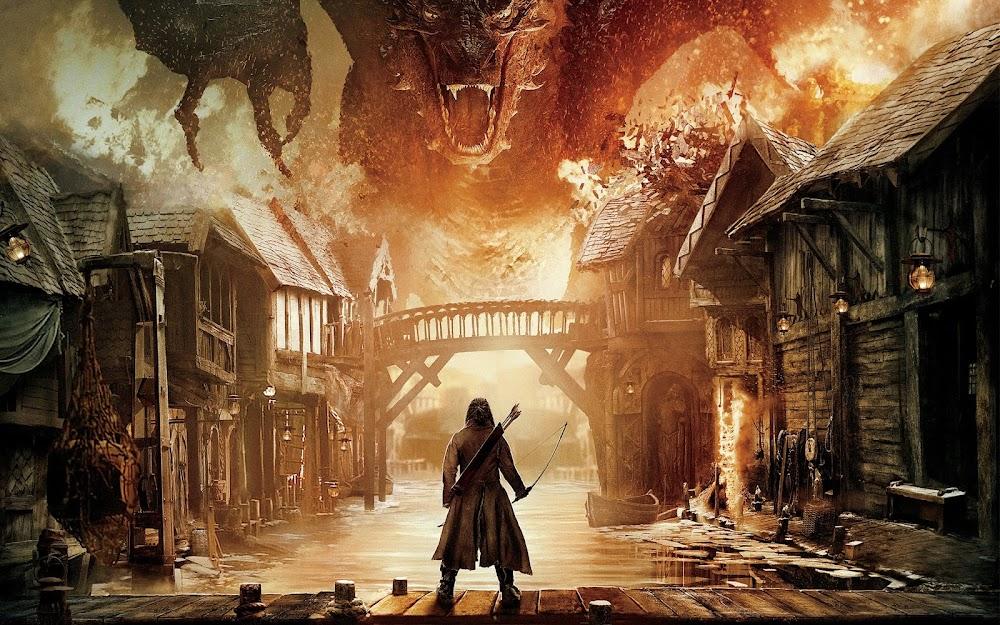 Hobbit Beş Ordunun Savaşı Yeni Fragman