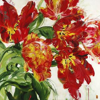 lores-rojas-pintura-moderna-contemporanea