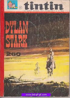 Tintin recueil souple, numéro 47, année 1968, à restaurer