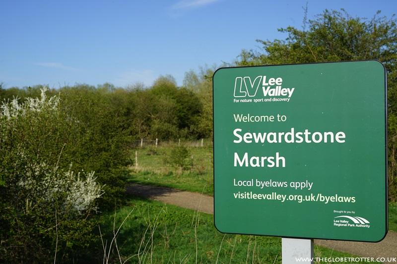 Sewardstone Marsh Entrance