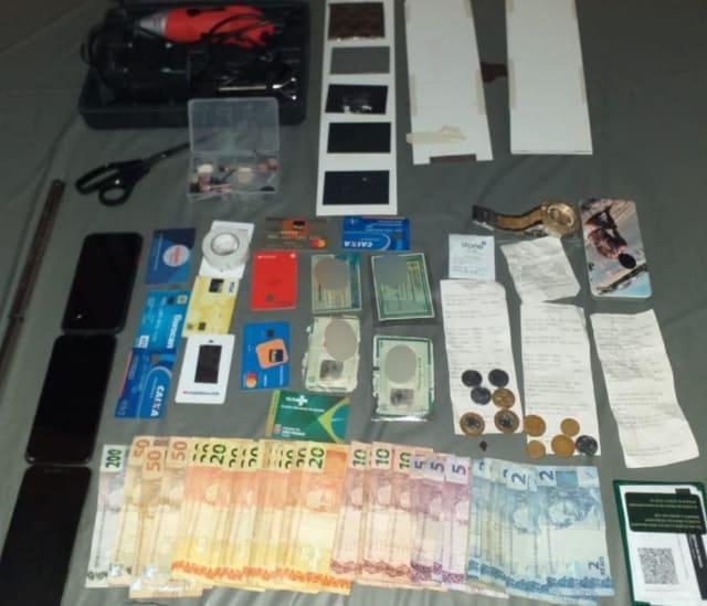 Quadrilha suspeita de furtar caixas eletrônicos é presa em Vitória da Conquista