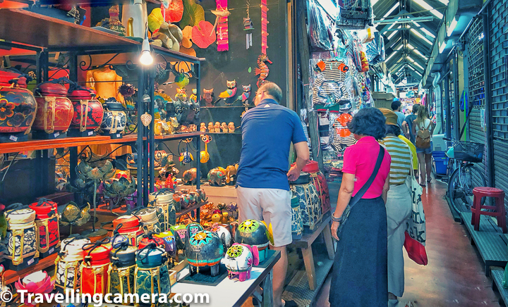 Interestingly you would find lot of Bamboo products in Thailand Markets and especially in Chatuchak Weekend Market.     Related Blog-post : Bhubing Palace or Hmong Tribal village - Which one to pick for exploration along with Doi Suthep