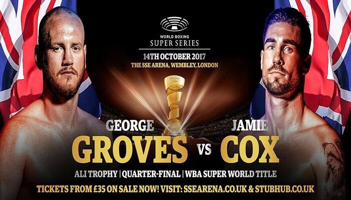 Ver George Groves vs Jamie Cox EN VIVO