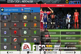 FTS Mod FIFA 19 Full League Top Eropa Asia