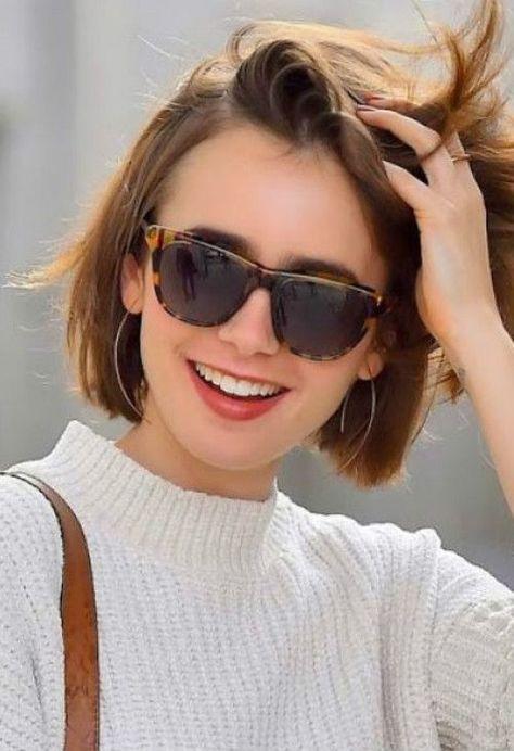 Short Hair Girls in Glasses