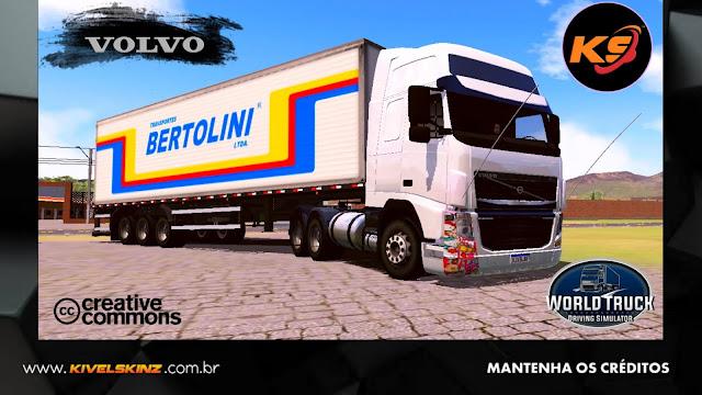 VOLVO FH09 - FH DA PAKITA BR 153 BERTOLINI TRANSPORTES