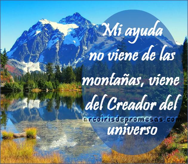Reflexiones cristianas con imágenes Alzaré mis ojos a los montes