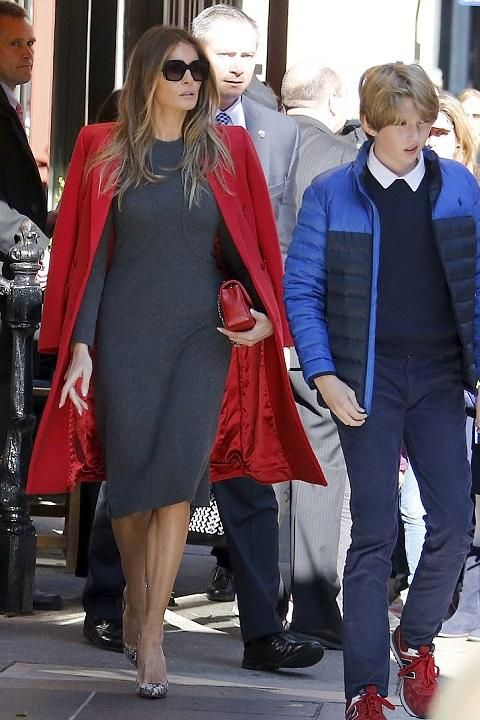 Melania's street outfit