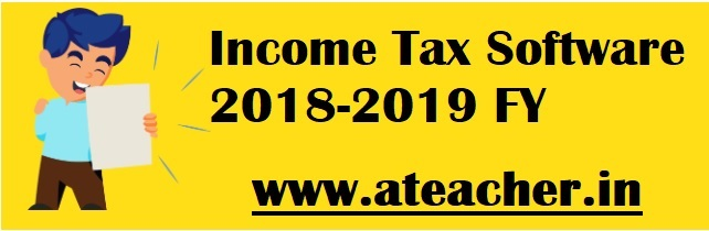 IT Software {Income Tax Software} 2018-19 with PRC 2015 Arrears for AP Teachers, Employees and TS Teachers,TS Employees