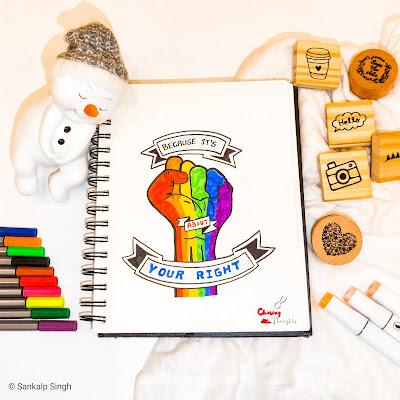 LGBT Poetry Art