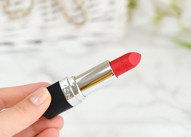 Avon True HerStory Perfectly Matte Lipstick Ruby Kiss