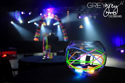Greygrey Designs My Parties Ryan S Glow In The Dark
