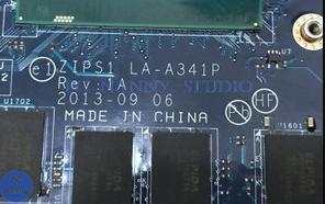 LA-A341P REV 1A LENOVO YOGA S1 Laptop bios