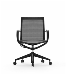 Sleek Boardroom Mesh Chair