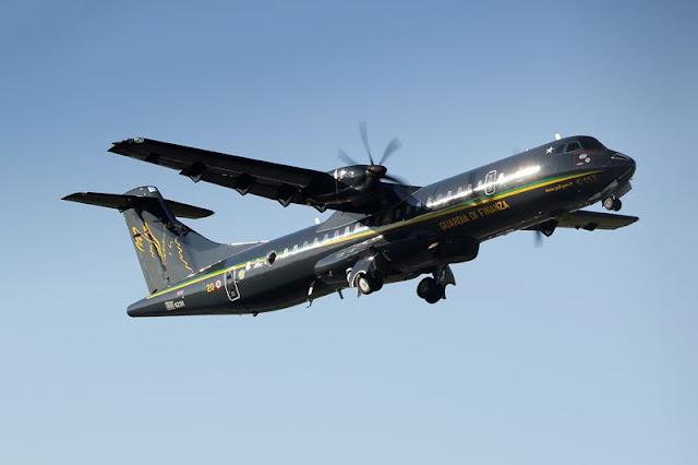 Italian Guardia Finanza ATR72 Covid India