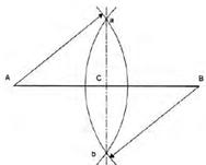 gambar konstruksi geometri garis