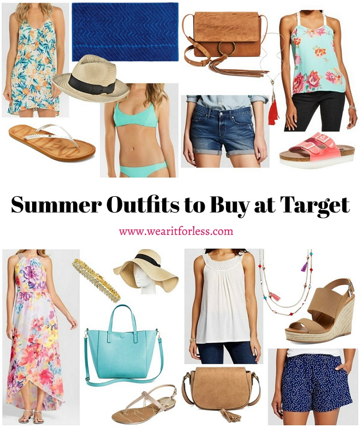 What to buy at Target, Target Outfits for less, summer outfit inspiration, outfit ideas from Target